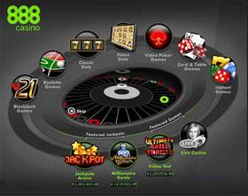 برمجيات ألعاب كازينو888