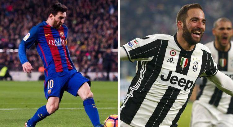 اتحادجمعياتكرة القدمالأوروبية: برشلونة ضد يوفنتوس