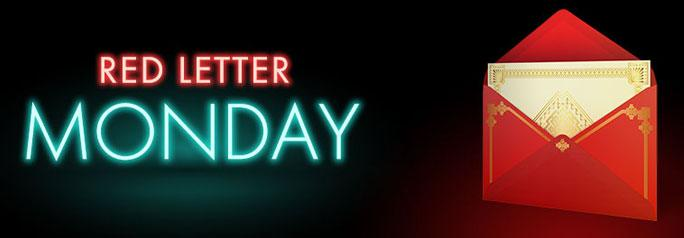 Red Letter Monday offer with bet365 casino