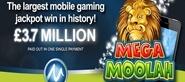 أكبر جائزة كبرى لـ Mobile Slots