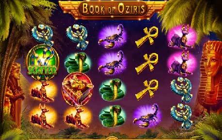 رموز سلوتس كتاب أوزيريس (Book of Oziris)
