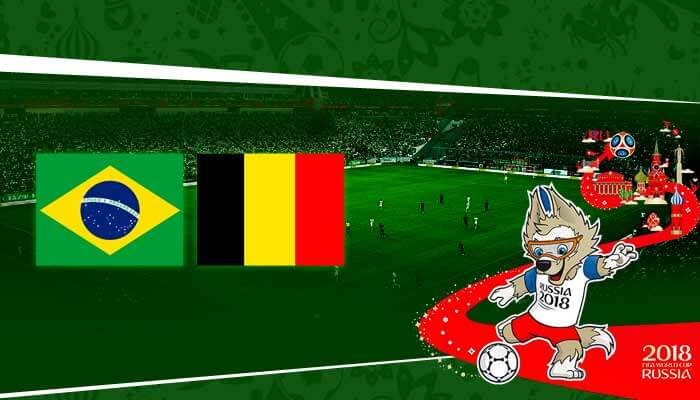 Brazil vs Belgium Prediction 6 Jul 2018