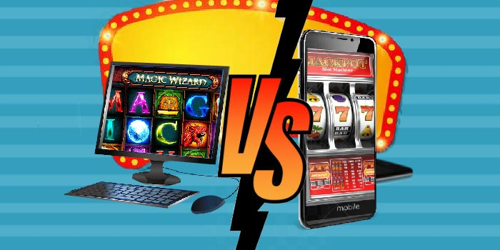 Difference between Desktop vs Mobile Casinos