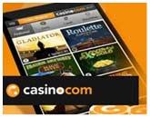 كازينو Casino.com للهاتف الجوال