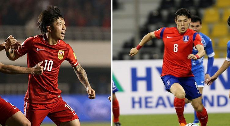 China vs South Korea Prediction and Betting Tips – 23 March 2017
