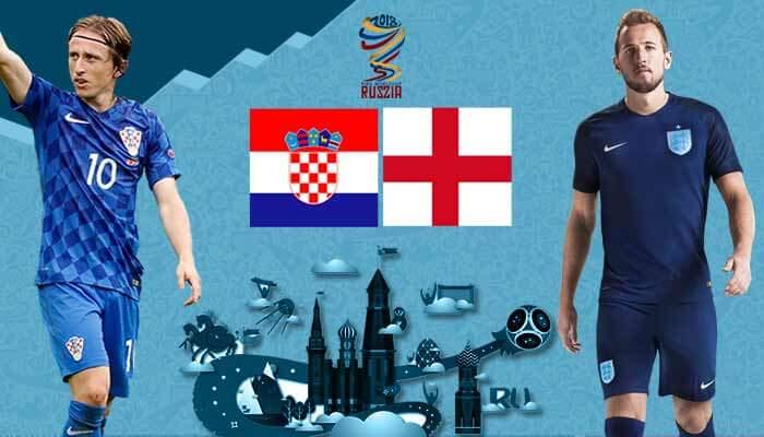 كرواتيا مقابل إنكلترا التنبؤ-كاس العالم لكره الأرض 2018 نصف النهائي