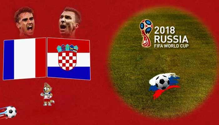 فرنسا مقابل التنبؤ كرواتيا-كاس العالم لكره الأرض 2018 النهائي