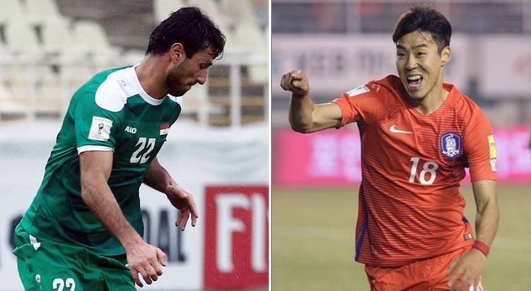 مباراةٌ دوليةٌ ودّيةٌ: منتخب العراق ضد كوريا الجنوبية