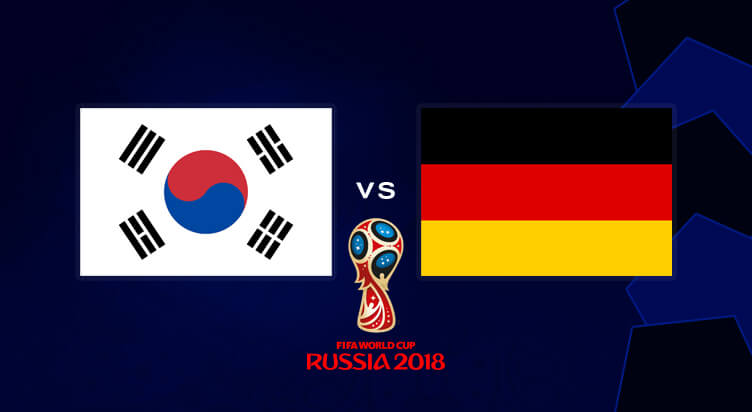 South Korea vs Germany Prediction 27 Jun 2018