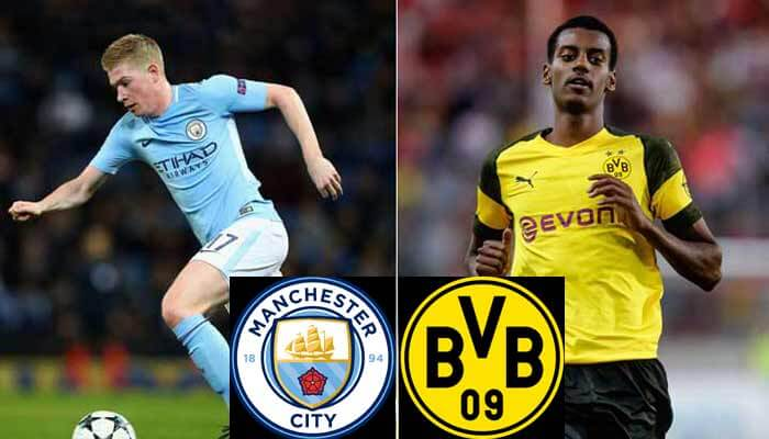 Manchester City vs Borussia Dortmund Prediction 21 Jul 2018