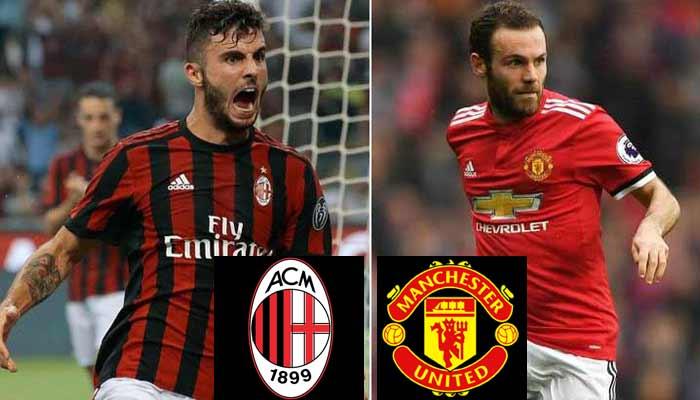 Milan vs Manchester United Prediction 26 Jul 2018