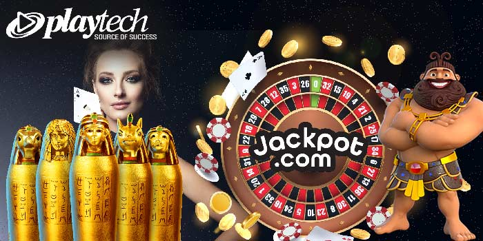 New casino games by Playtech at Jackpot.com