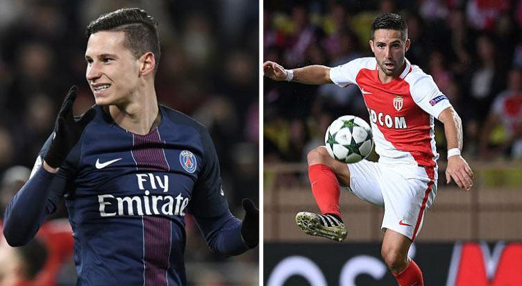 توقعات واستعراض مباراة باريس سان جيرمان ضد موناكو بالإضافة إلى إرشادات وتعليمات الرهان