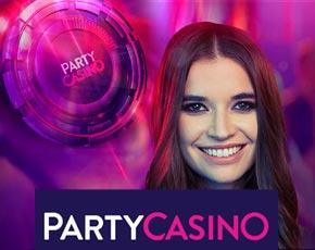 50 لفة مجانية على بارتي كازينو (PartyCasino)
