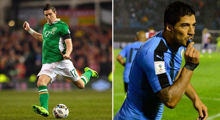 توقعات مباراة مُنتخبي جمهورية أيرلندا ضد أوروغواي وعرضٌ أوليٌ وتعليمات الرهان