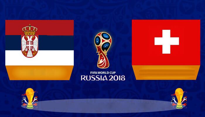 صربيا مقابل سويسرا التنبؤ للمجموعة ه المباراة من كاس العالم لكره القدم 2018