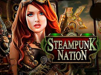 سلوتس ستيمبانك ناشين (Steampunk Nation)