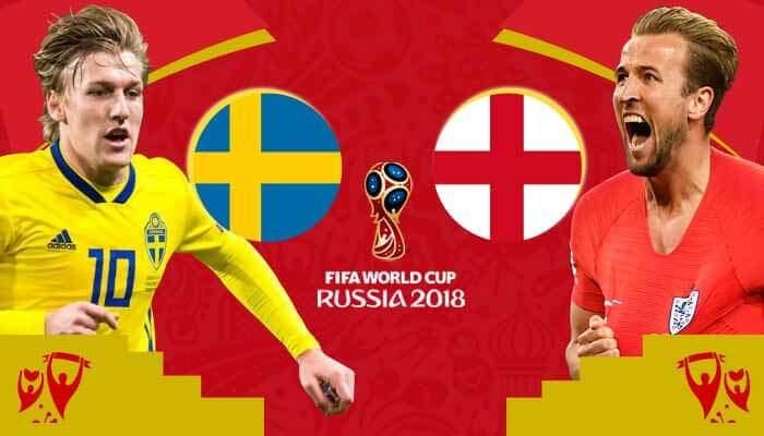 توقعات مباراة السويد ضد إنكلترا – ربع نهائي بطولة فيفا لكأس العالم 2018