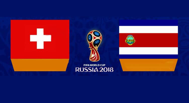 توقعات مباراة سويسرا مقابل كوستاريكا المجموعة E من كاس العالم لكره القدم 2018