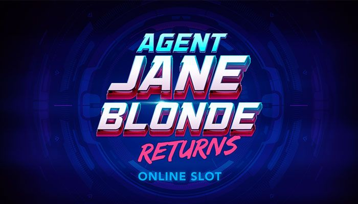 Microgaming announces  Agent Jane Blonde Returns online Slots