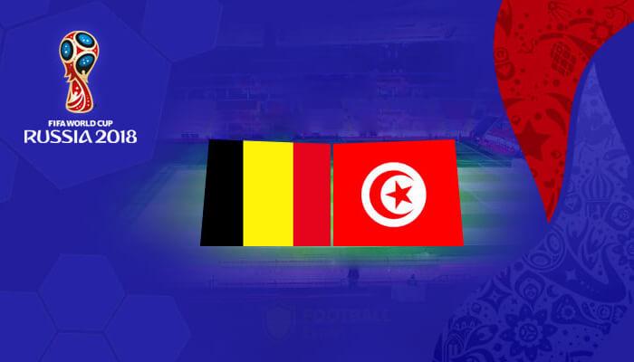 مباراة بلجيكا أمام تونس، توقعات مباراة المجموعة السابعة في كأس العالم لكرة القدم 2018.