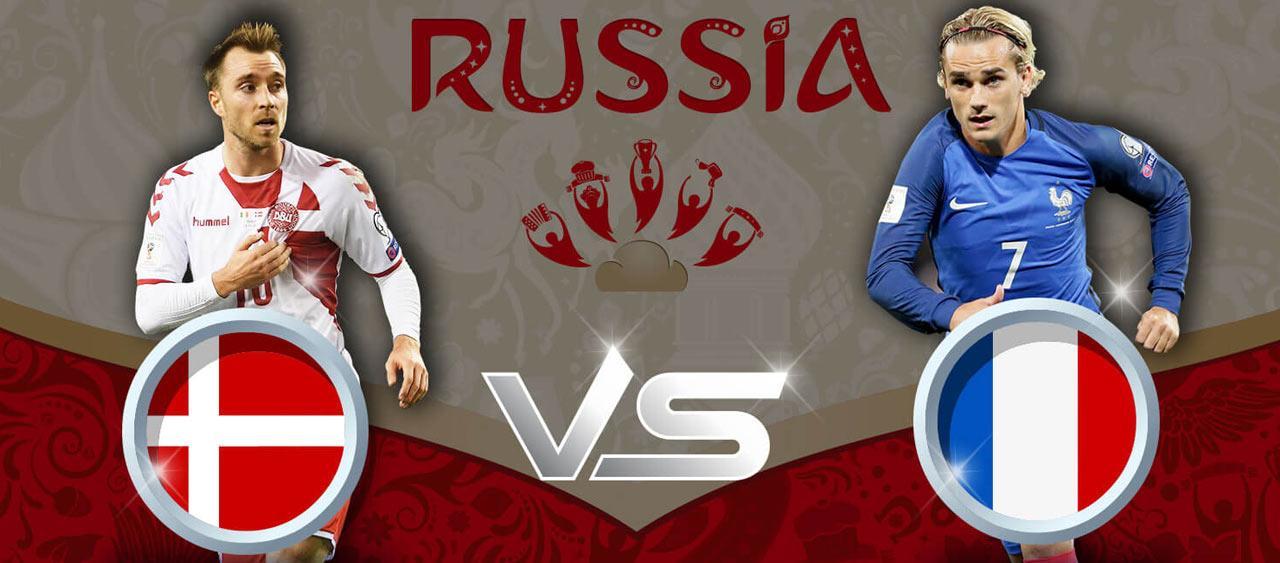 توقعات مباراة الدنمارك ضد فرنسا من المجموعة C في بطولة كأس العالم 2018.