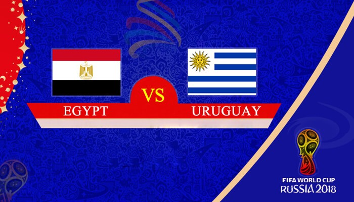 Egypt vs Uruguay 15 Jun 2018