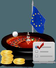 قواعد ذهب الروليت الأوروبي