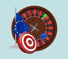 استخدام استراتيجية الروليت الاوربي