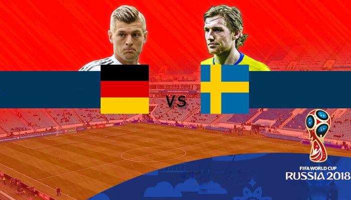 ألمانيا أمام السويد، لمحة تمهيدية لمباراة المجموعة السابعة، في كأس العالم لكرة القدم 2018.