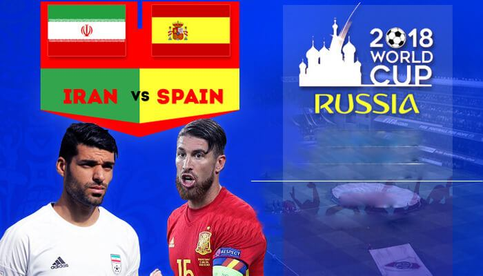 Iran vs Spain Prediction 19 Jun 2018