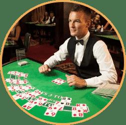 العب البوكر ذات الموزع المباشر أونلاين