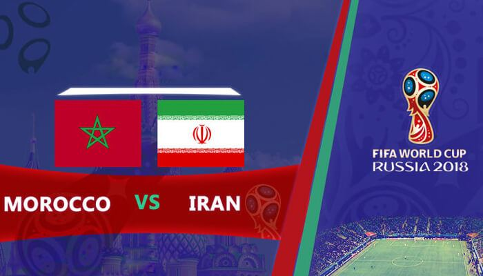 Morocco vs Iran 15 Jun 2018