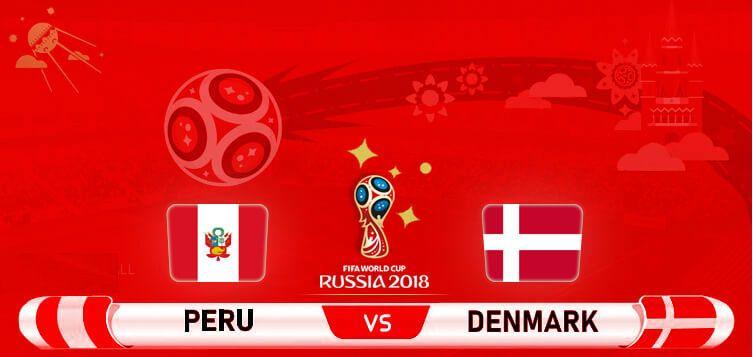 بطولة فيفا لكأس العالم 2018 – المجموعة C: البيرو ضد الدنمارك
