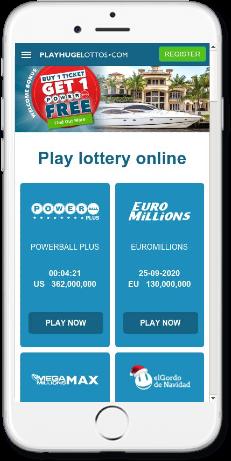 مراجعة موقع بلاي هيوج لوتوز (PlayHugeLottos) – شراء تذاكر اليانصيب أون لاين