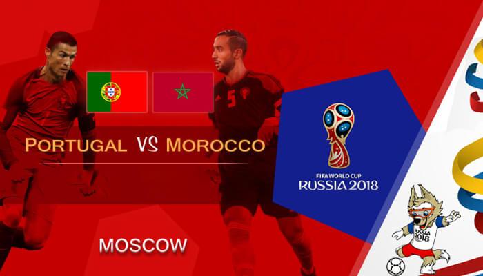 البرتغال ضد المغرب التنبؤ للمجموعة باء مباراة كاس العالم لكره القدم 2018