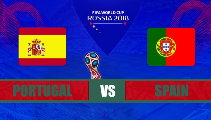 Portugal vs Spain 15 Jun 2018