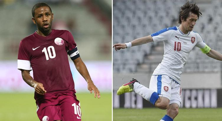 مُباراة دُوليّة ودية: قطر ضد جمهوريّة التشيك
