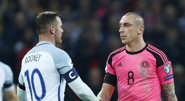 اتحادجمعياتكرة القدمالأوروبية تصفيات كأس العالم: استكتلندا ضد إنجلترا