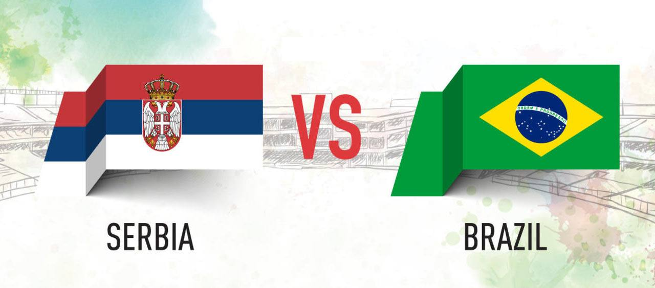 Serbia vs Brazil Prediction