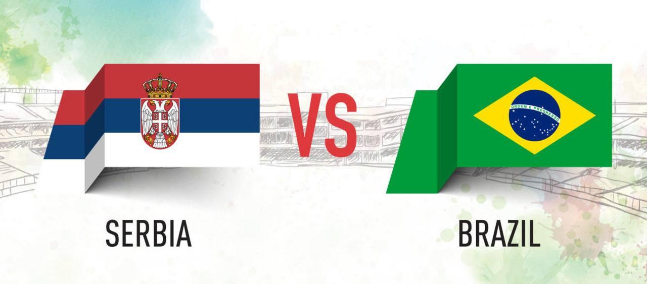 صربيا أمام البرازيل، توقع مباراة المجموعة الخامسة في كأس العالم لكرة القدم 2018.